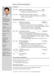 resume templates samples of cv sample and in  other samples of cv sample cv and resume sample cv and resume in 87 mesmerizing best cv template