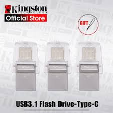 Kingston <b>USB</b> Flash Drive <b>DataTraveler Micro Duo 3C</b> 64GB 32GB ...