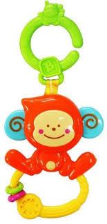 веселая обезьянка с колечком