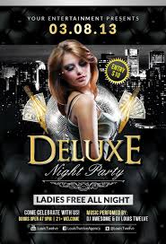 club flyer template anuvrat info deluxe night party flyer template by louistwelve design on