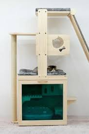 lovely modular cat tree with scratching opps cats cattree chic cat furniture