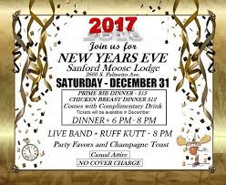 New Years Eve Party at The Sanford Moose Lodge - Sanford 365