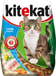 Отзывы о Сухой корм для кошек <b>Kitekat Улов Рыбака</b> 350г ...