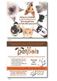 design a flyer for a pet sitting business lancer 10 for design a flyer for a pet sitting business by rcoco