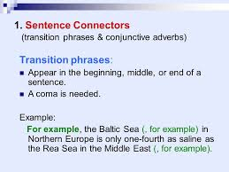 introduction sentences for essays introductions introduction    sentence connectors transition phrases amp conjunctive adverbs transition phrases appear in   transition examples sentences