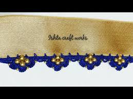 ||<b>New year</b> special|| Crochet triple petal flower saree tassel/kuchu ...