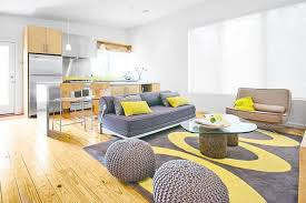 Yellow Living Room Decorating Living Room Raise The Personality By The Use Nice Purple Nice