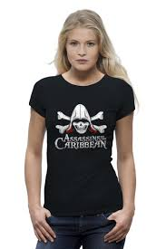 "Футболка Wearcraft Premium ""<b>Ассасин</b> карибского Моря"" #615887 ..."