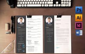 designer resume template word indesign psd template print ready web designer resume template