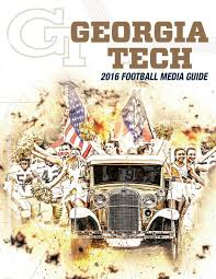 2014 tech football information guide by gtathletics issuu