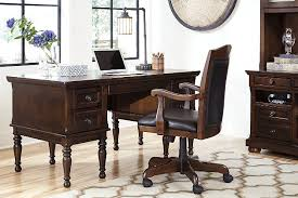 brown porter 60 ashley furniture home office desk
