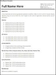 Resume Examples No Experience | Resume Examples No Work . 11 ... Job Resume Examples No Experience