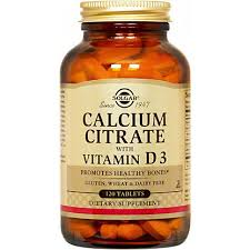 <b>Solgar Calcium Citrate With</b> Vitamin D3 Tablets, 120 CT – Central ...