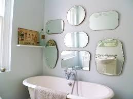 bathroom wall mirrors large frameless mirror
