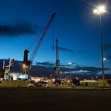 exterior industrial port lighting aec illuminazione aec eco lighting