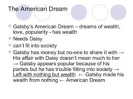 corruption of the american dream in the great gatsby essay www