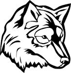 Голова волка раскраска