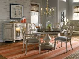 Dining Room Table Stylish Furniture Expandable Round Vintage Dining Room Table With