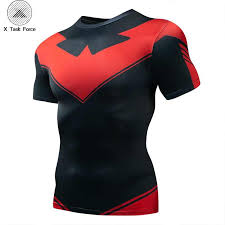 <b>Raglan Sleeve Spiderman 3D</b> Printed T shirts Men Compression ...