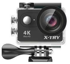 <b>Экшн</b>-<b>камера X</b>-<b>Try XTC160</b> (черный)