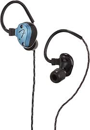 <b>Fender IEM Nine 1</b>, Gun Metal Blue in-Ear Headphone Monitor ...