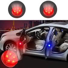<b>Magnetic Wireless</b> LED <b>Car</b> Door <b>Opening</b> Warning Lights ...