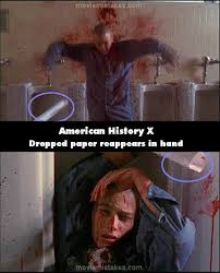 American History X movie mistakes, goofs and bloopers