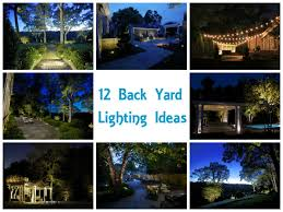 12 backyard lighting ideas backyard lighting ideas