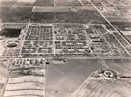 commemorating crystal city the transnational dimension of german aerial view of crystal city internment camp 1944 45
