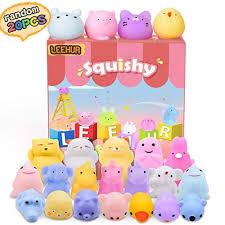<b>LEEHUR</b> Birthday Party Favors 20pcs Mochi Glitter Squishie... https ...