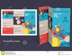 brochure booklet z fold layout editable design template royalty brochure booklet z fold layout editable design template