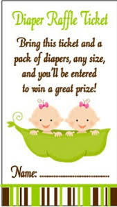 17 best ideas about diaper raffle wording baby baby shower diaper raffle ticket peas in a pod