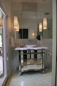 narrow bathroom sink bathroom contemporary with ceiling lighting cosmetics mirror image by amy newman lauffer cid leed ap bathroom sink lighting