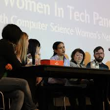 computer science women s network women in tech panel