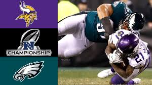 Vikings vs. Eagles | NFL NFC Championship Game Highlights ...