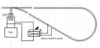 model railroad wiring Model Train Wiring Diagrams wiring for model railroad track reversing loop model train dcc wiring diagrams