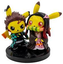 Купить Фигурка Pokemon - <b>Pikachu Cosplay</b> Demon Slayer (10 см ...