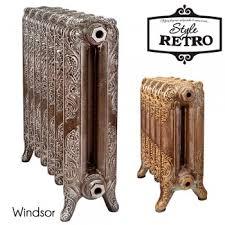 Купить <b>Чугунный</b> дизайнерский <b>радиатор RETROstyle Windsor</b> ...