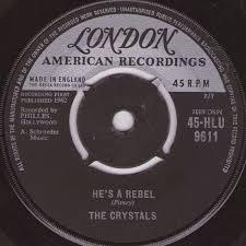 The <b>Crystals</b> - <b>He's A</b> Rebel / I Love You Eddie (1962, Vinyl) | Discogs