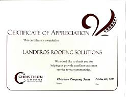 ask landeros roofing s clients letter of intro to property managers