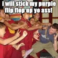 Monks fighting Memes via Relatably.com