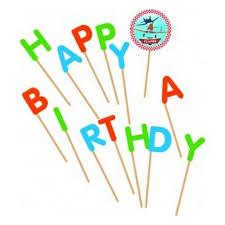<b>Свечи</b>-<b>буквы Procos</b> 82108 Самолеты Happy Birthday — купить в ...