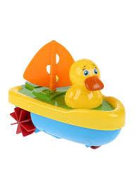 <b>Заводная игрушка для</b> ванны утенок-капитан Умка 9270478 ...