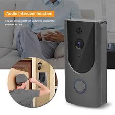 HD 720P Smart <b>WiFi</b> Video <b>Doorbell Camera Visual</b> Intercom Night ...