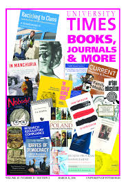 university times books journals more this annual university times supplement recognizes faculty and staff who have written edited and translated books as well as those whose efforts have