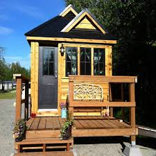 tiny house big adventures house with porch boulder tiny house front