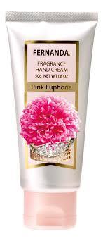 Купить парфюмерный <b>крем для рук Pink</b> Eupforia 50г Fernanda по ...