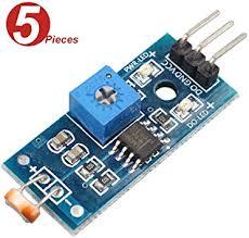 WINGONEER 5Pcs Digital <b>Light</b> Intensity <b>Sensor Module</b> Photo ...