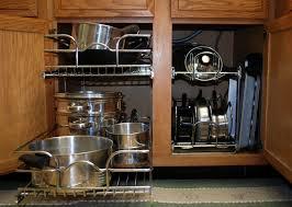 photos kitchen cabinet organization:  kitchen storage racks and shelves kitchen cabinets storage racks add kitchen cabinet pot organizer