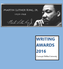 mlk jr writing awards department of english carnegie mellon 17th annual mlk jr writing awards booklet